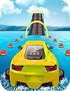 waptrick.com Water Surfing Car Stunts